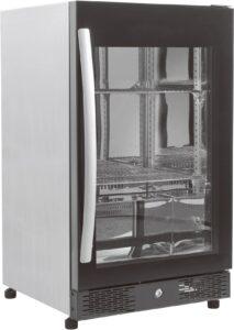 Backbar - Barkøleskab - Stor glaslåge - 98 liter