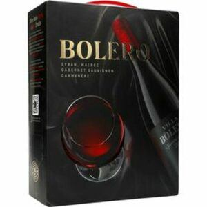 Bolero Syrah, Malbec Cab- Sau Carmenere 13,5% BiB 3 L