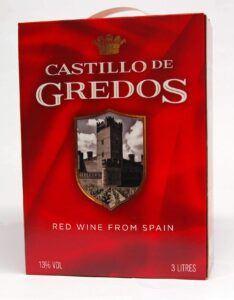 Castillo de Gredos Rød13% 3 L