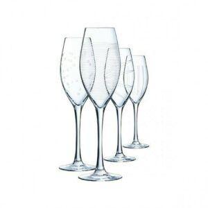 Champagneglas 24cl Illumination (4stk)