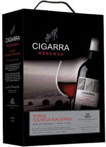 Cigarra Reserva Shiraz Touriga Nacional 13 % BIB 3 L