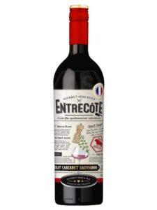 Entrecôte Merlot Cabernet Sauvignon 13% 75 cl