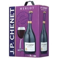 J.P. Chenet Merlot 13% 3 L
