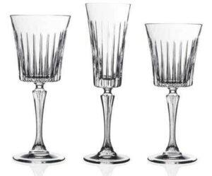RCR Timeless Champagne,Rød Og Hvidvinsglas