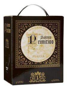 Salento Primitivo Puglia 13% 3L BIB