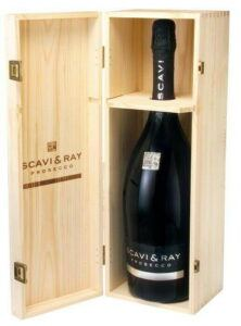 Scavi & Ray Prosecco Doc, Wooden Box (Mg) 1,5 Ltr