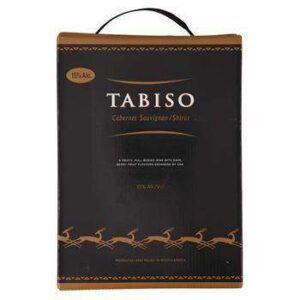 Tabiso Cabernet Sauvignon/Shiraz 15% BIB 3 L