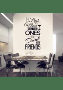 The best wines-wallsticker