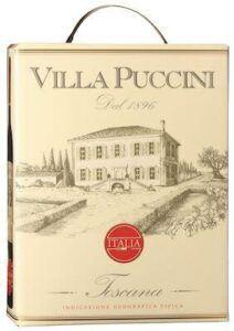 Villa Puccini Toscana Oak Aged 12,5% 3 L