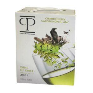 Casas Patronales Chardon/Sauvignon Blanc 14% 3L BIB