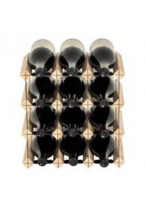 Mensolas - fyrretræ - 12 flasker
