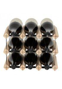 Mensolas - fyrretræ - 9 flasker