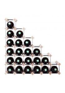 Mensolas - trappe - 27 flasker - fyrretræ