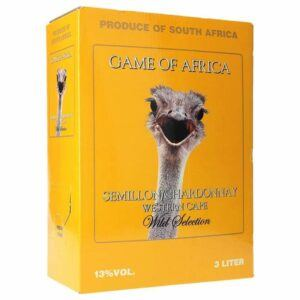 Game of Africa Semil- Chardonnay 11% 3 Ltr.