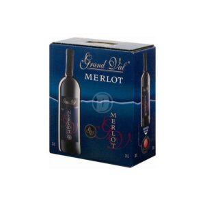 Grand Val Merlot 3L BIB 12,5%