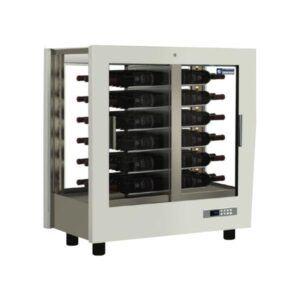 Vinkøleskab - hvidt - 48 flasker