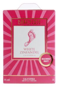 Barefoot White Zinfandel 8% 3 L