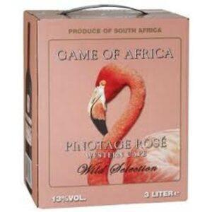 Game of Africa Pinotage Rose 13% 3L BIB