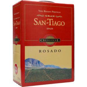 San Tiago Rosado 12,5% 3 liter