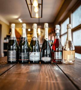 Nytårskassen + Laguiole Champagnesabel