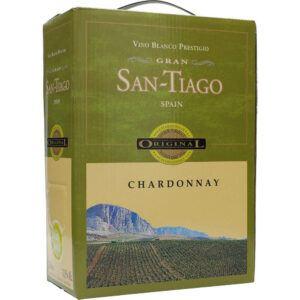 San Tiago Chardonnay 12,5% 3 ltr.