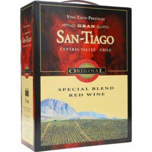 San Tiago Speciel Blend Red Wine 13,5% 3 ltr.