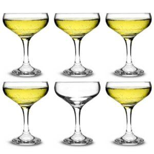 City Champagne Coupe Glas 200ml Pack af 6