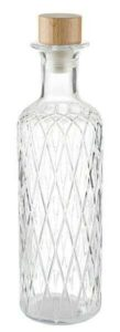 Glas karaffel-diamant- 28cm 0,8l