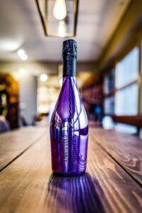 Liquid Gold Bubbles Purple