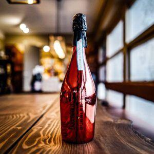 Liquid Gold Bubbles Rød