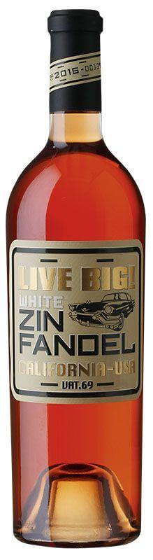 Live Big - White Zinfandel Rose - Californien vat. 2018