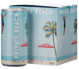 Private Beach Sparkling Rose Can 2019