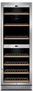 Caso CS775 Winechef Pro 126 Vinkøleskab - Rustfrit Stål