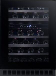 Temptech Sommelier vinkøleskab SOMX60DRB (sort)