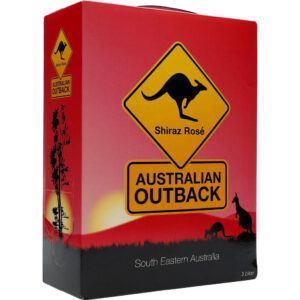 Australian Outback Shiraz Rosé 13% 3 ltr.