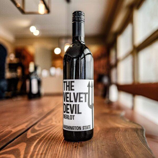 Charles Smith The Velvet Devil Merlot 2018