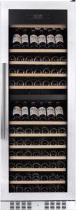 Temptech Elegance vinkøleskab E1000DX (rustfri stål)