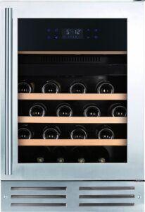 Temptech Elegance vinkøleskab EX60DX (rustfri stål)