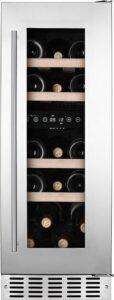 Temptech Oslo vinkøleskab OX30DX (rustfri stål)