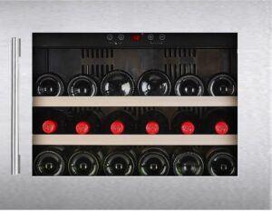 Temptech Oslo vinkøleskab OZ45SX (rustfri stål)