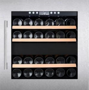 Temptech Oslo vinkøleskab OZ60DX (rustfrit stål)