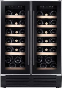 Temptech Premium vinkøleskab WP2DQ60DCB (sort)