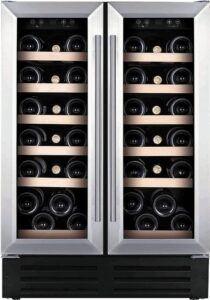 Temptech Premium vinkøleskab WP2DQ60DCS (rustfri stål)
