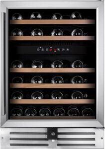 Temptech Premium vinkøleskab WPQ60DCS (rustfri stål)