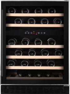 Temptech Premium vinkøleskab WPX60DCB (sort)