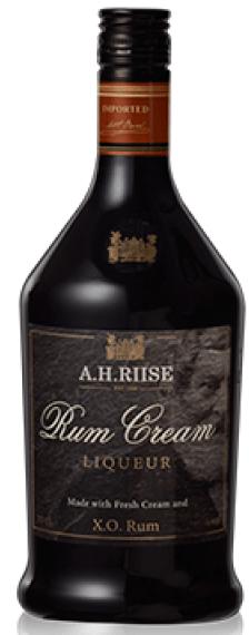A.H. Riise XO Rum Cream Liqueur 17% 70 cl
