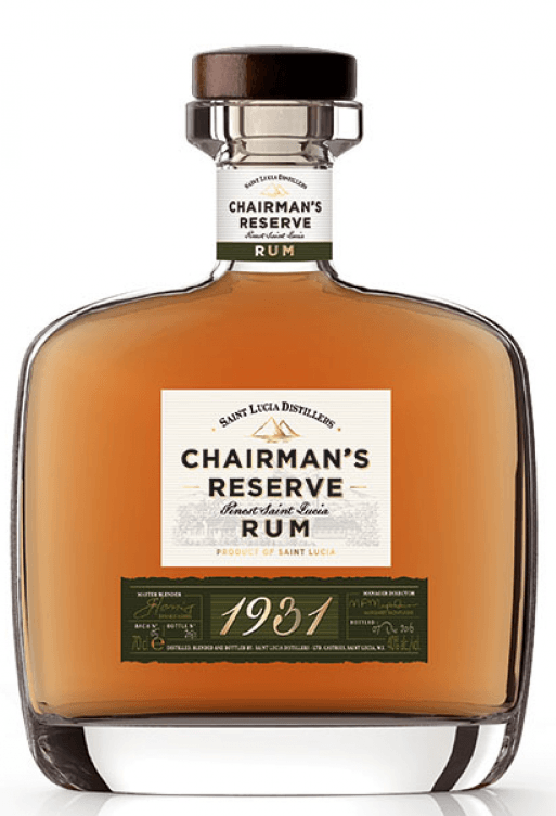 Chairmans Reserve 1931 Finest St Lucia Rom 46% 70.cl