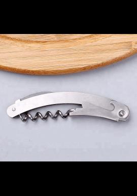 Elegant proptrækker i rustfrit stål