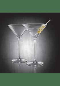 Final touch durashiel martini glass 2 stk