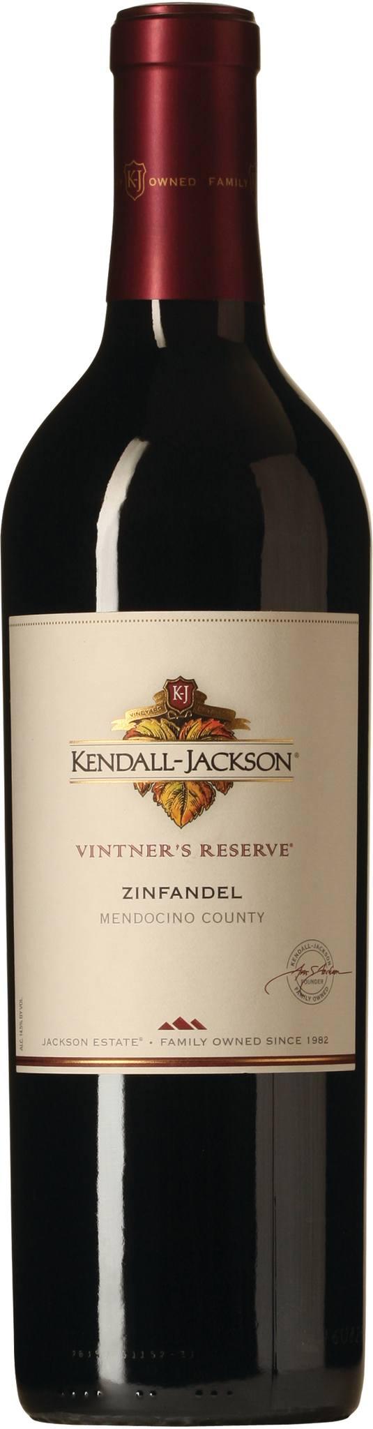 Kendall-Jackson Vintners Reserve Zinfandel 2016